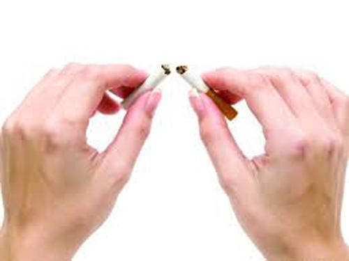 A fumagem deixada fumou aquele